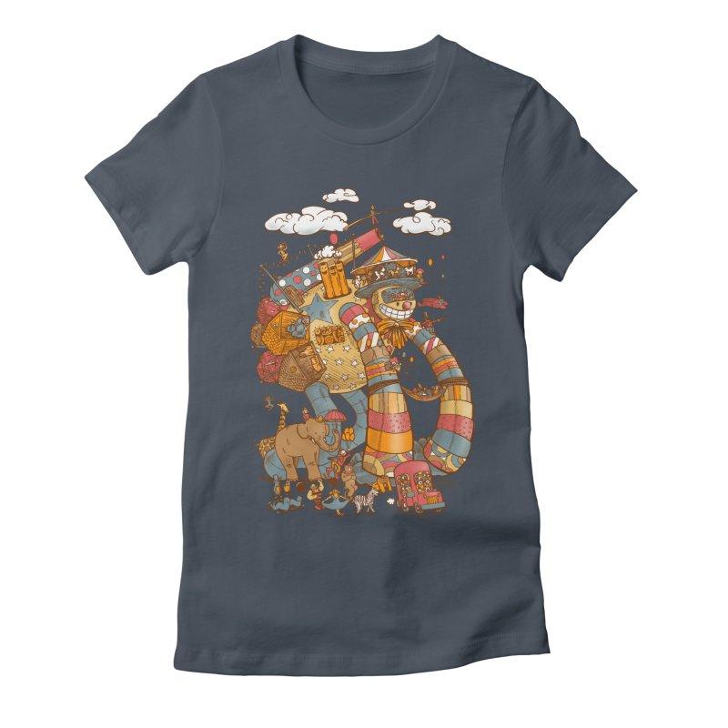 Circusbot Women's T-Shirt by nickv47