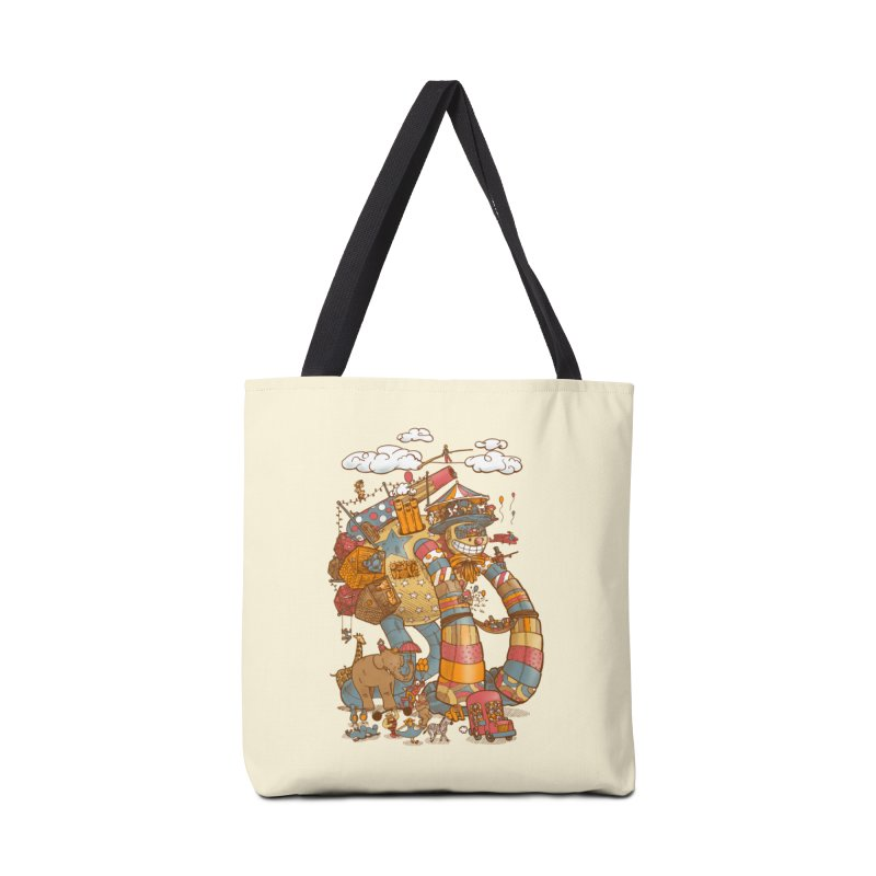 Circusbot Accessories Tote Bag Bag by nickv47