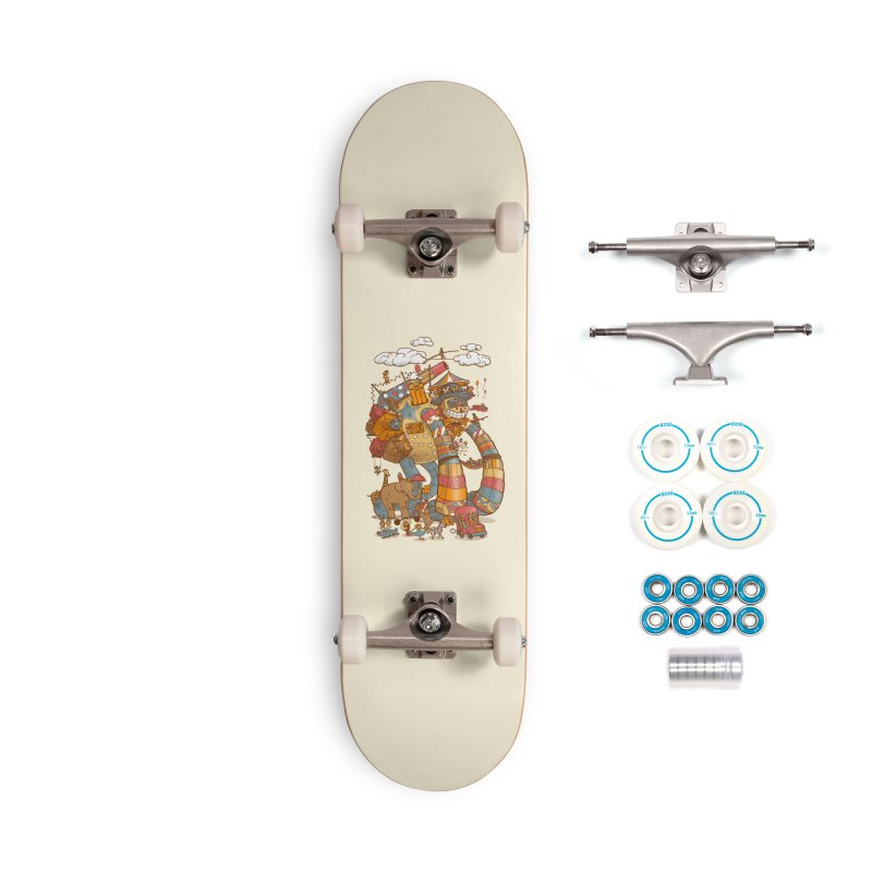 Circusbot Accessories Complete - Basic Skateboard by nickv47