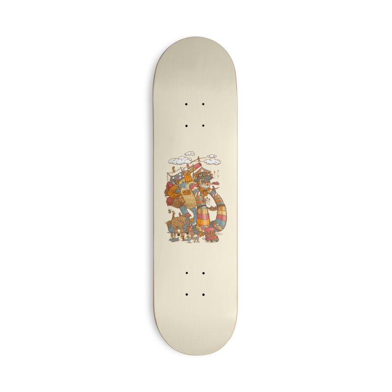 Circusbot Accessories Deck Only Skateboard by nickv47