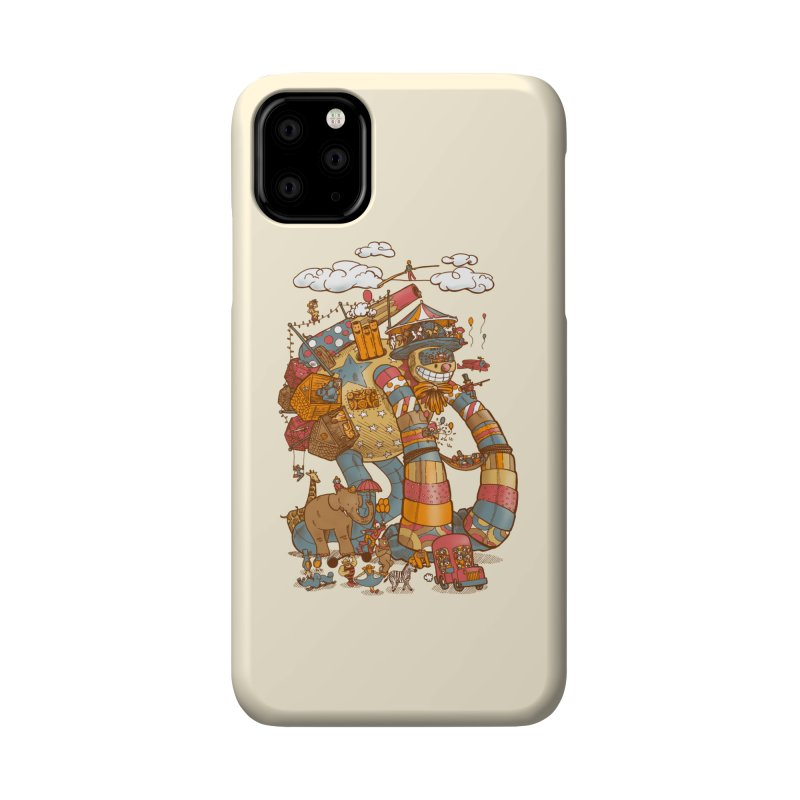 Circusbot Accessories Phone Case by nickv47