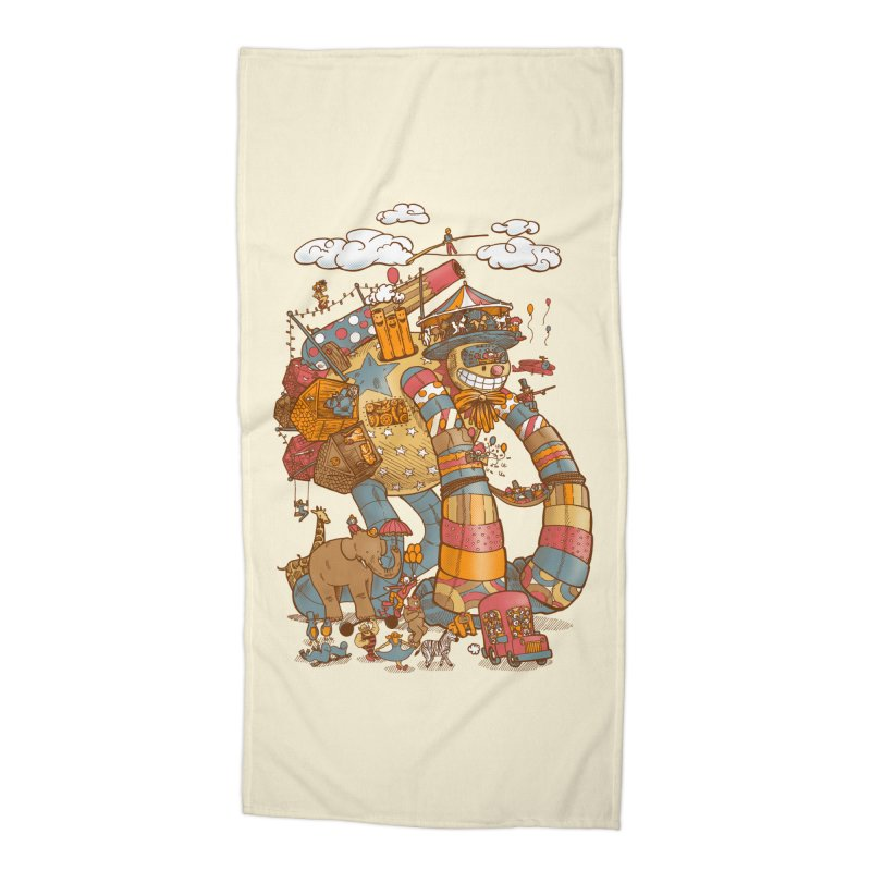 Circusbot Accessories Beach Towel by nickv47