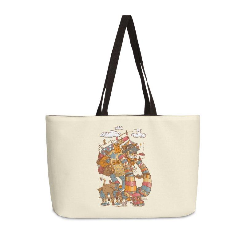 Circusbot Accessories Weekender Bag Bag by nickv47