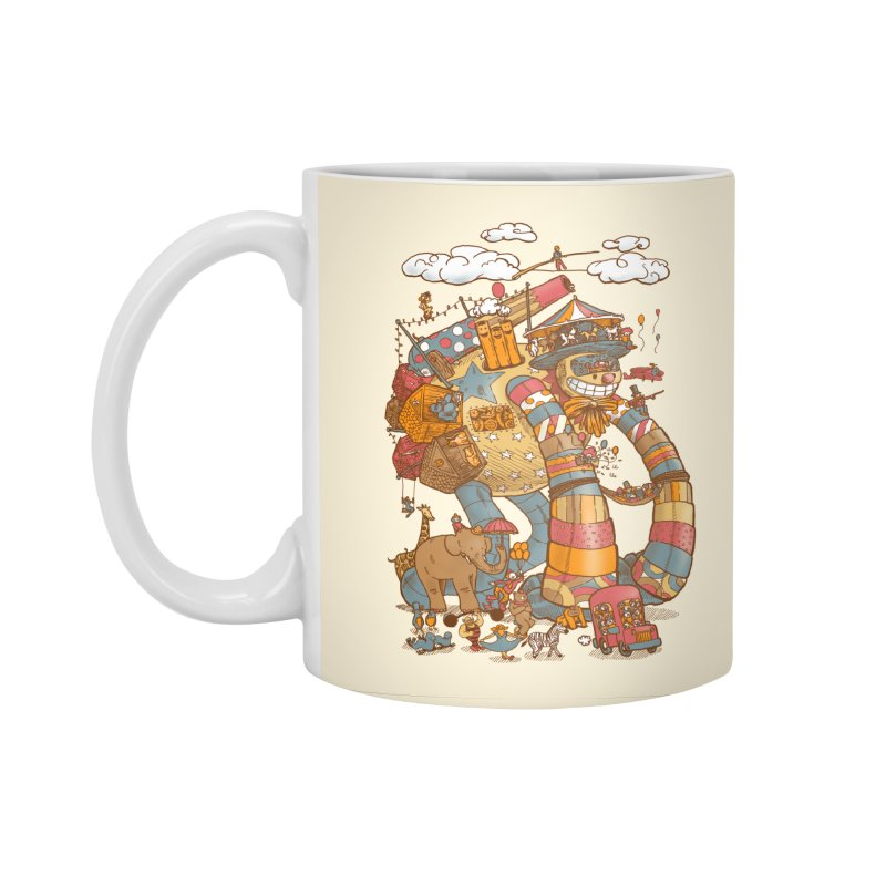 Circusbot Accessories Standard Mug by nickv47