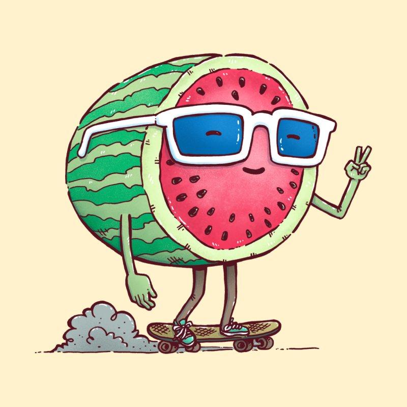 Watermelon Skater Men's T-Shirt by nickv47