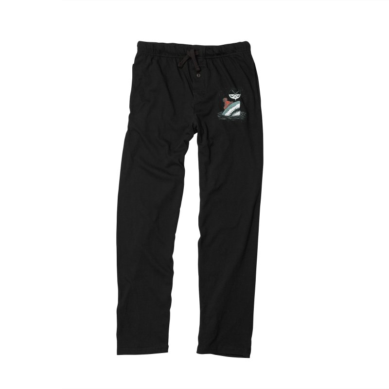 The Hockey Shark Women's Lounge Pants by nickv47