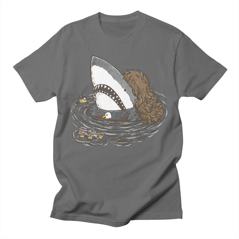 The Mullet Shark Men's T-Shirt by nickv47