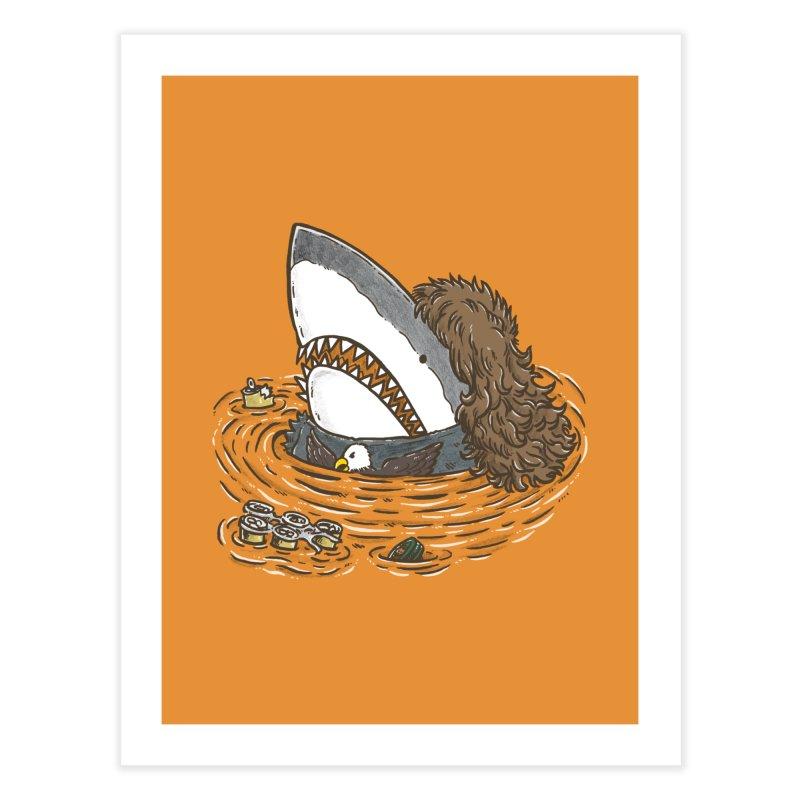 The Mullet Shark Home Fine Art Print by nickv47