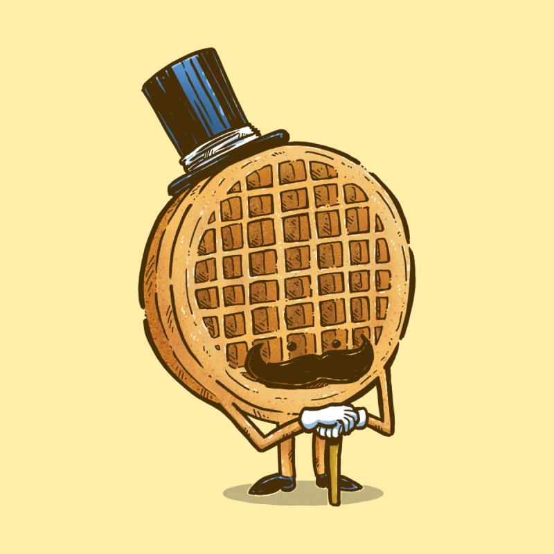 The Fancy Waffle None  by nickv47