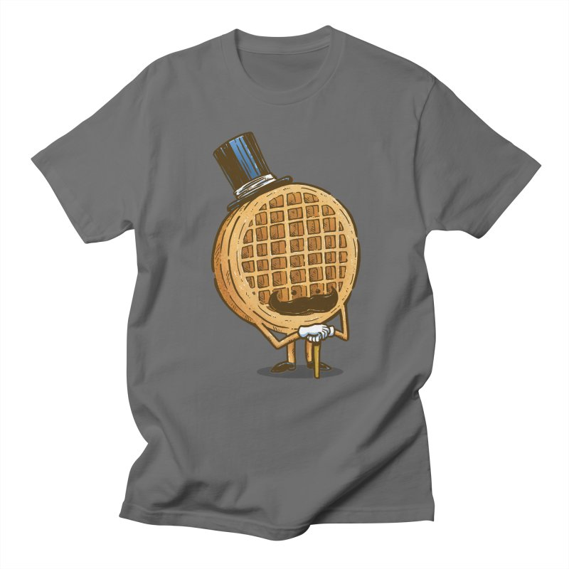 The Fancy Waffle Men's T-Shirt by nickv47