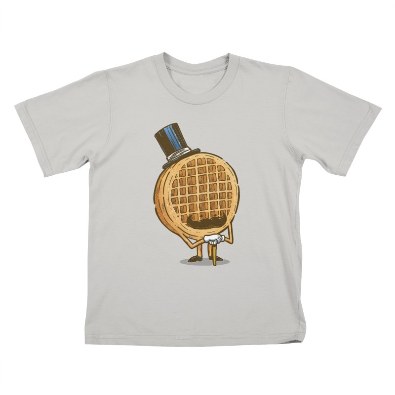 The Fancy Waffle Kids T-Shirt by nickv47