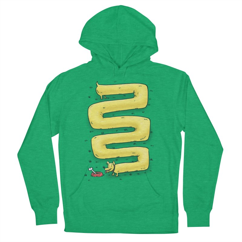Infinite Wiener Dog Men's Pullover Hoody by nickv47