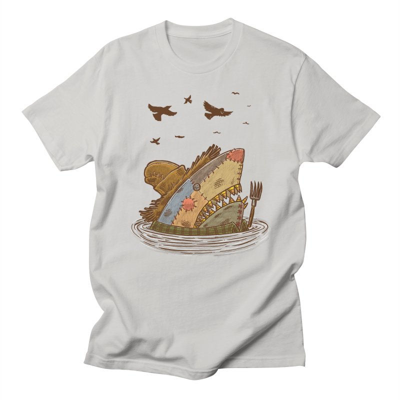 The Scarecrow Shark Men's T-shirt by nickv47