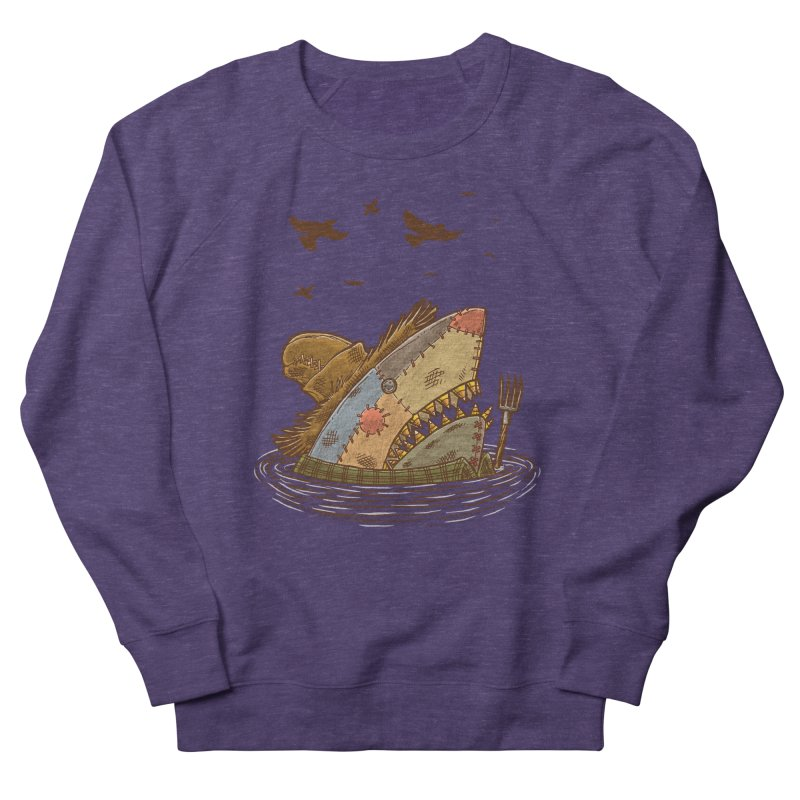 The Scarecrow Shark Women's Sweatshirt by nickv47