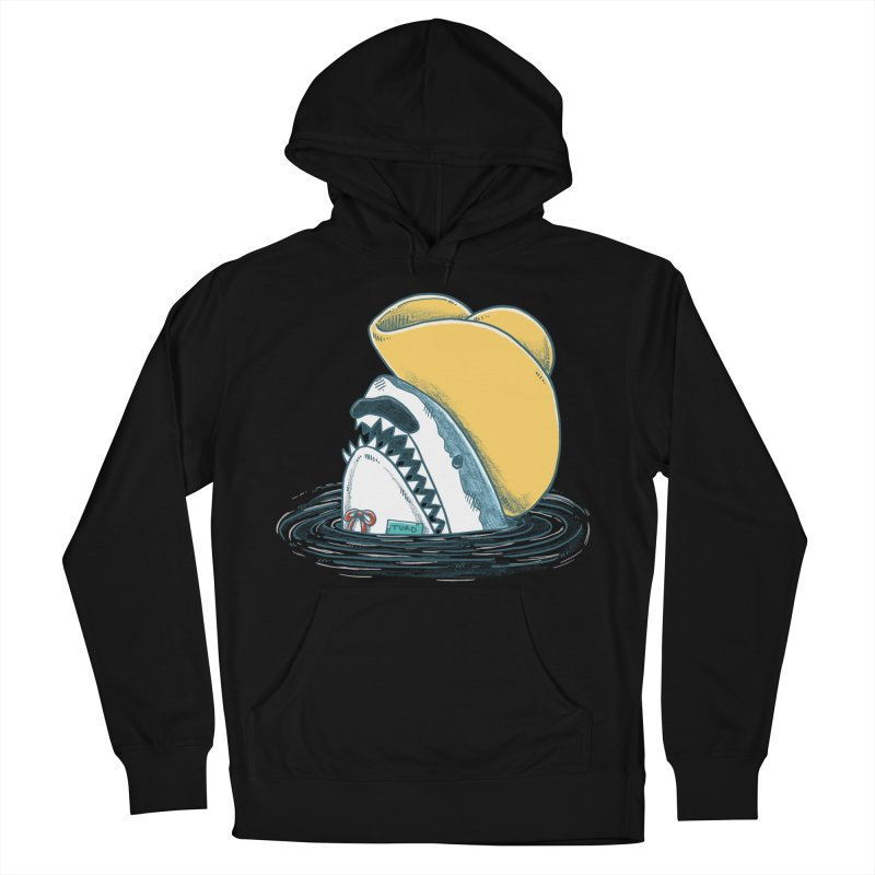 The Funny Hat Shark Women's Pullover Hoody by nickv47