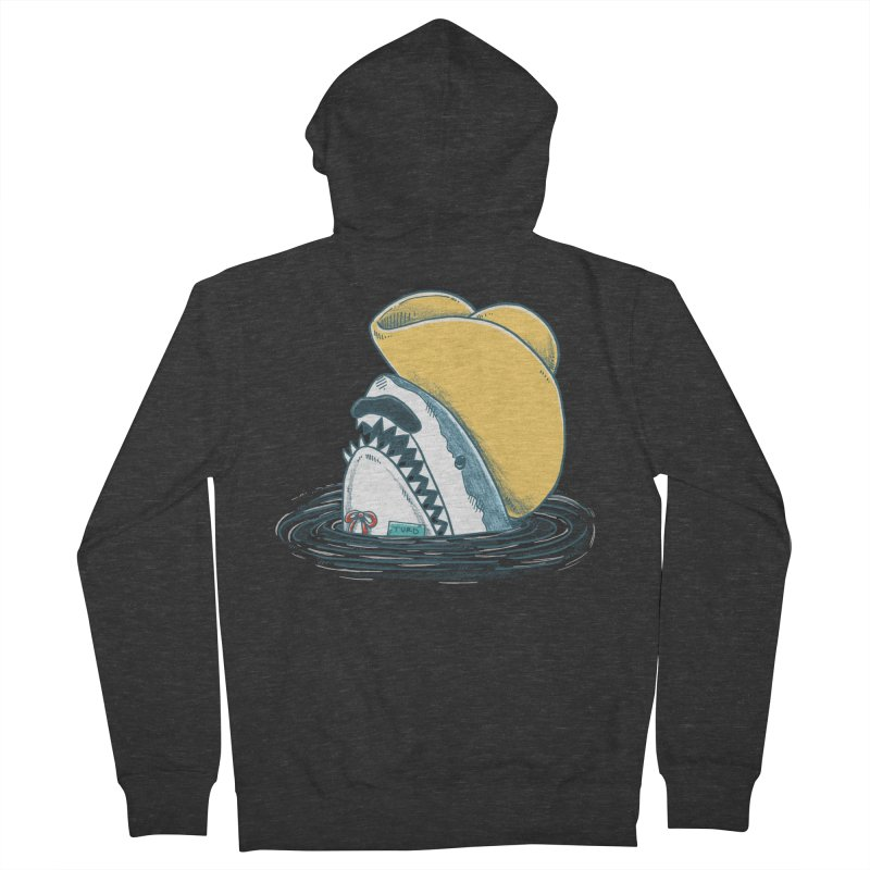 The Funny Hat Shark Women's Zip-Up Hoody by nickv47
