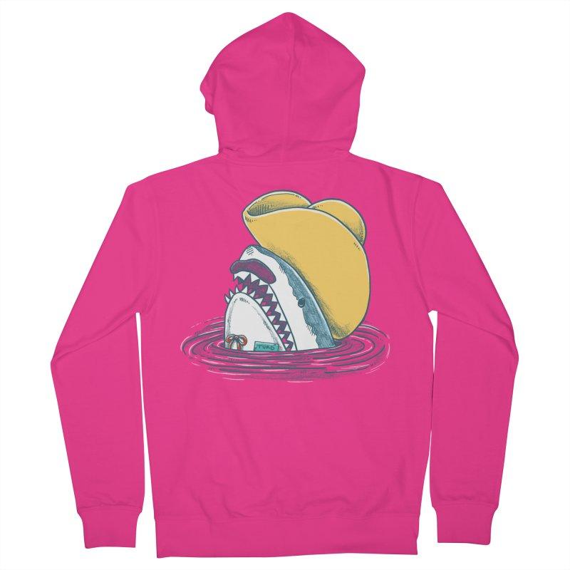 The Funny Hat Shark Men's Zip-Up Hoody by nickv47