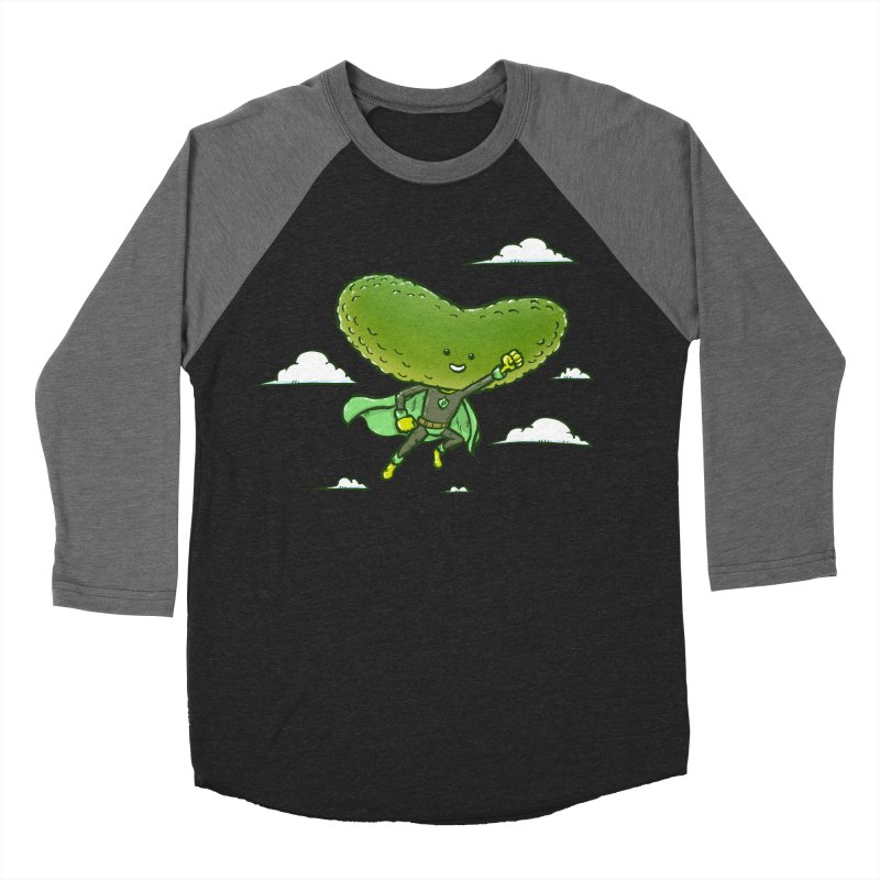 The Super Pickle Women's Baseball Triblend T-Shirt by nickv47