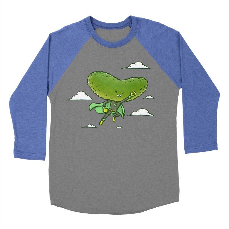 The Super Pickle Men's Baseball Triblend T-Shirt by nickv47