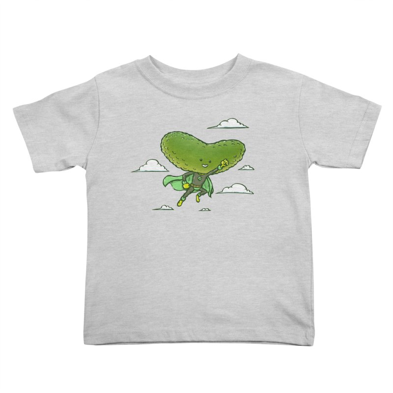 The Super Pickle Kids Toddler T-Shirt by nickv47