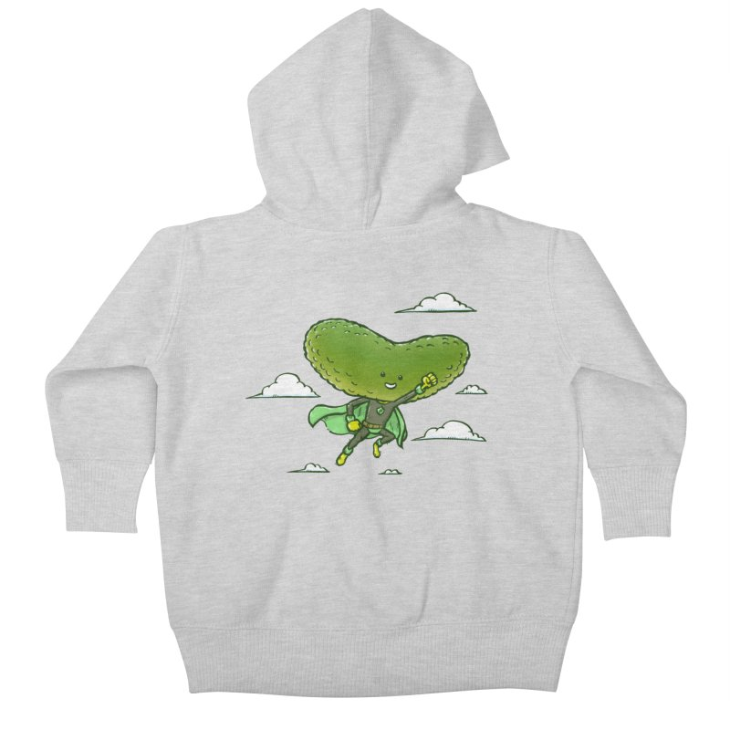 The Super Pickle Kids Baby Zip-Up Hoody by nickv47