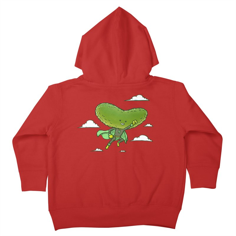 The Super Pickle Kids Toddler Zip-Up Hoody by nickv47