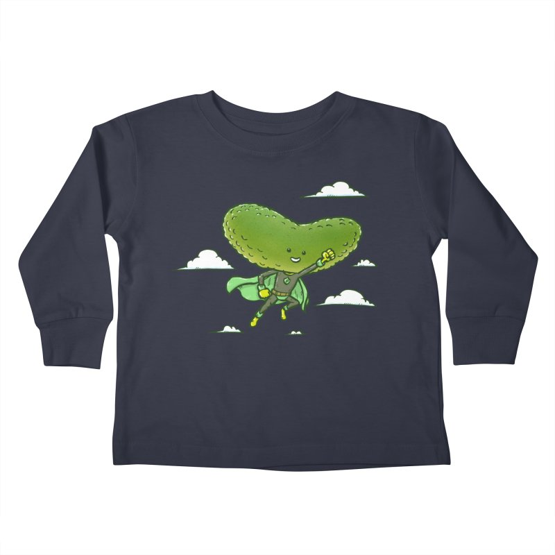 The Super Pickle Kids Toddler Longsleeve T-Shirt by nickv47