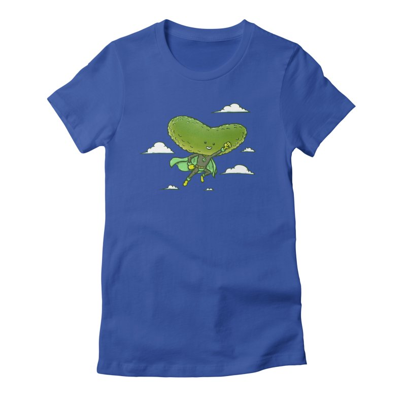 The Super Pickle Women's Fitted T-Shirt by nickv47