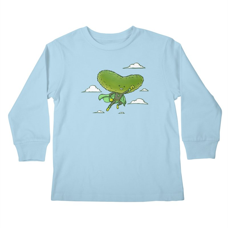 The Super Pickle Kids Longsleeve T-Shirt by nickv47