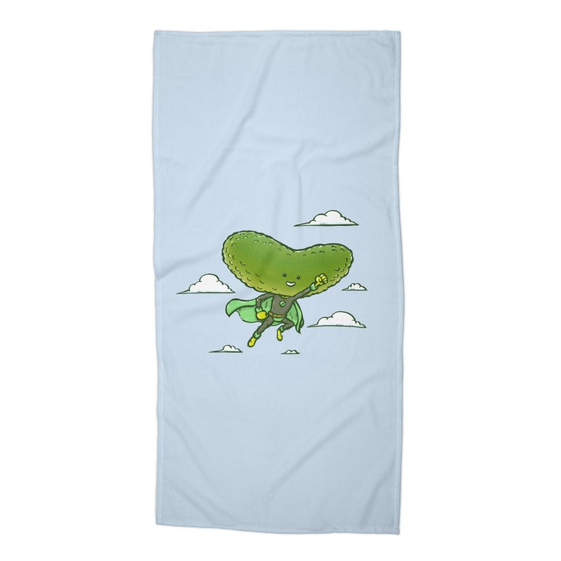 The Super Pickle Accessories Beach Towel by nickv47