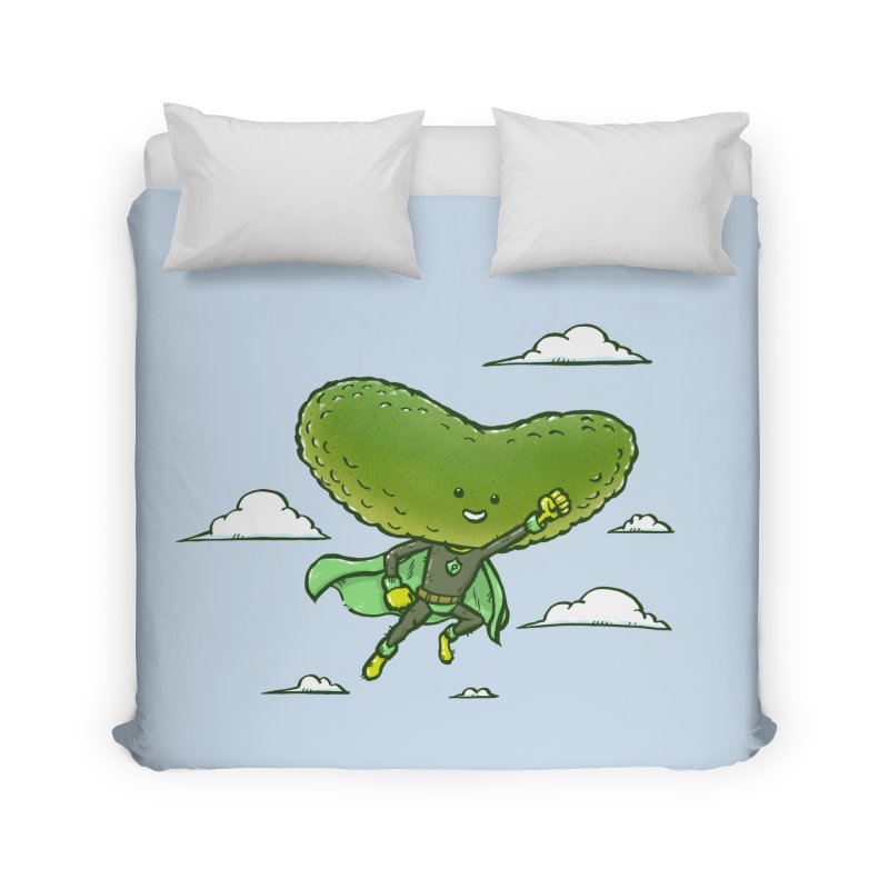 The Super Pickle Home Duvet by nickv47