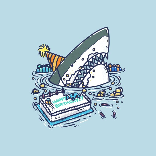 image for Sheet Cake Destruction Shark