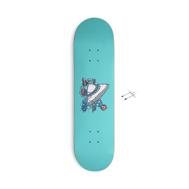 Birthday Shark III Accessories Skateboard by nickv47