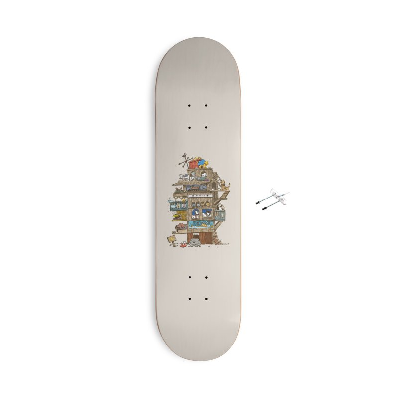 The Dog House Accessories Skateboard by nickv47