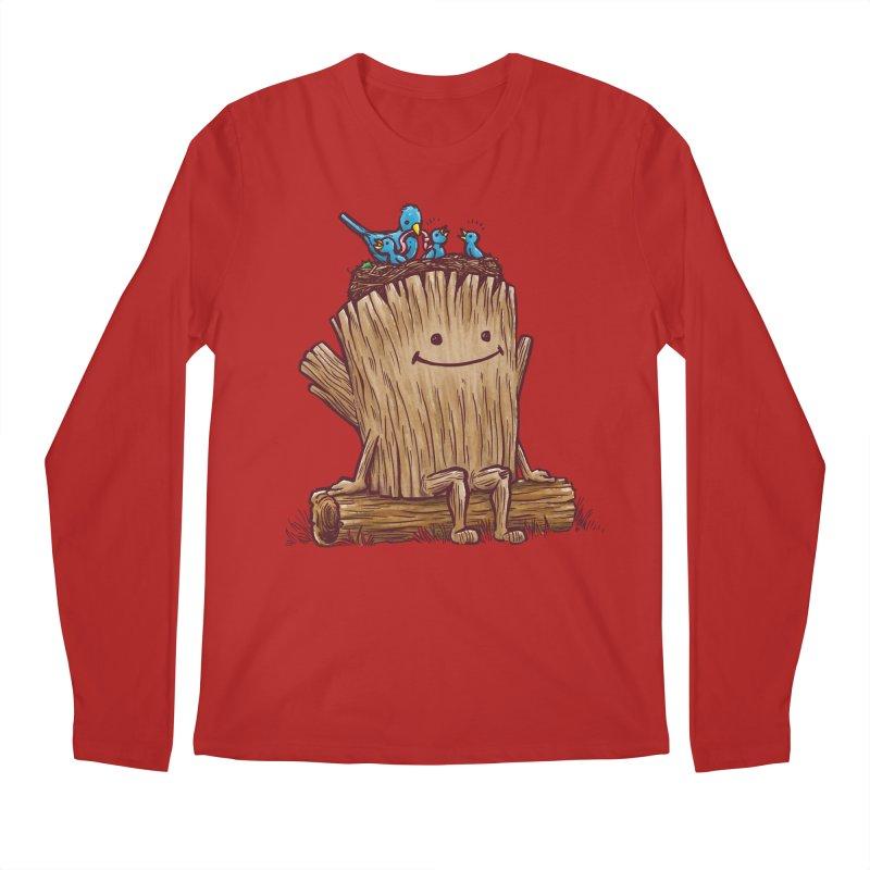 Good Day Log's Bird Nest Men's Longsleeve T-Shirt by nickv47