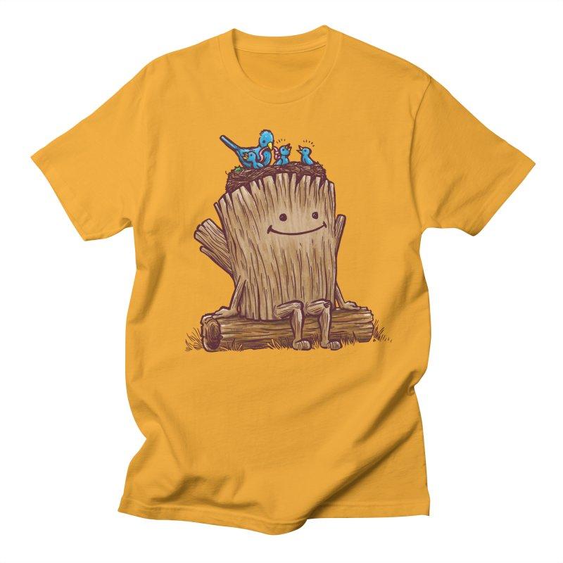 Good Day Log's Bird Nest Men's T-shirt by nickv47