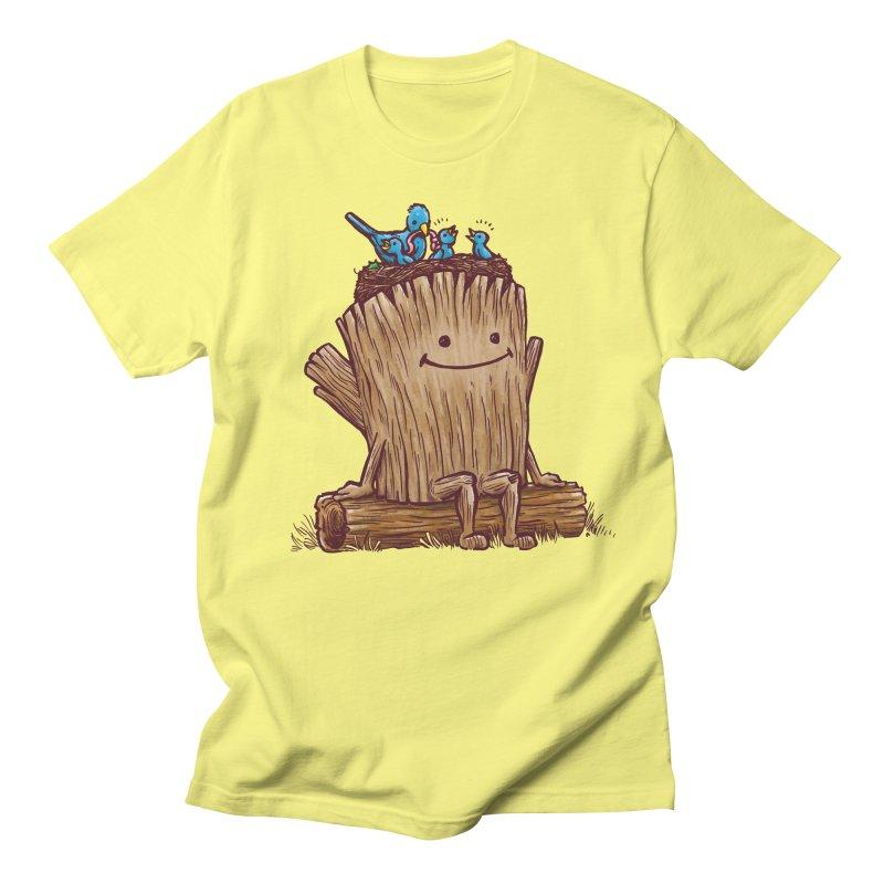 Good Day Log's Bird Nest Women's Unisex T-Shirt by nickv47
