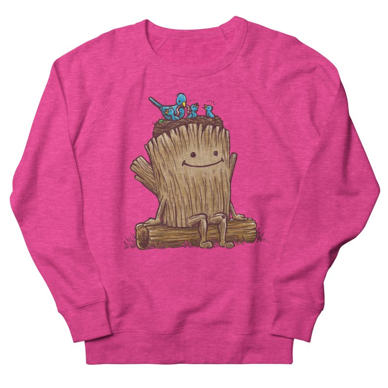 Good Day Log's Bird Nest Women's Sweatshirt by nickv47
