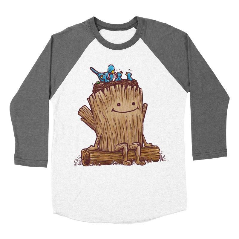 Good Day Log's Bird Nest Women's Baseball Triblend T-Shirt by nickv47