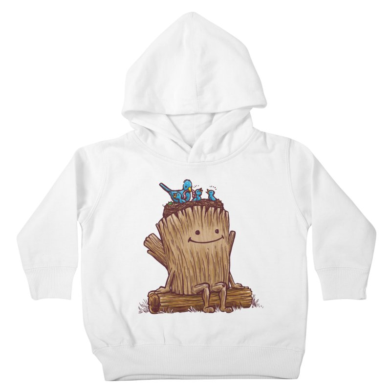 Good Day Log's Bird Nest Kids Toddler Pullover Hoody by nickv47