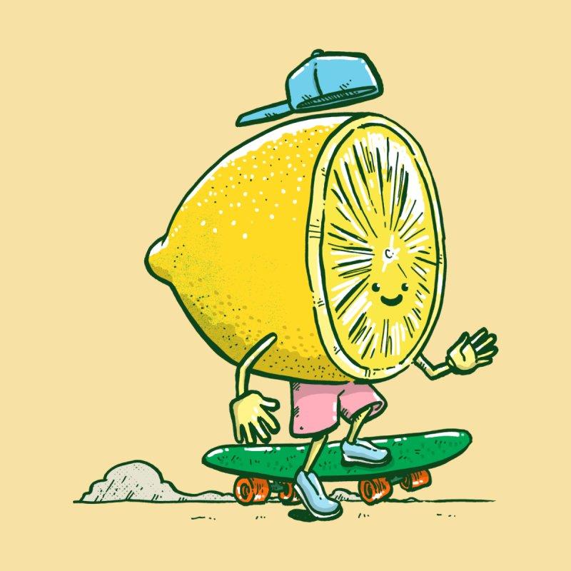 The Lemon Skater Accessories Skateboard by nickv47