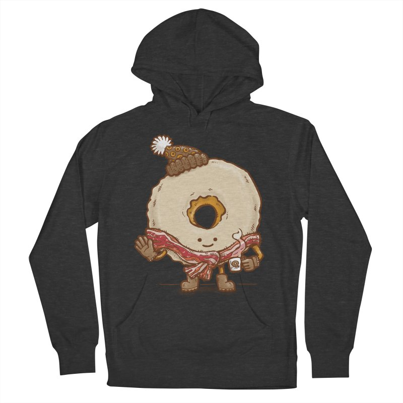 Bacon Scarf Donut Women's Pullover Hoody by nickv47