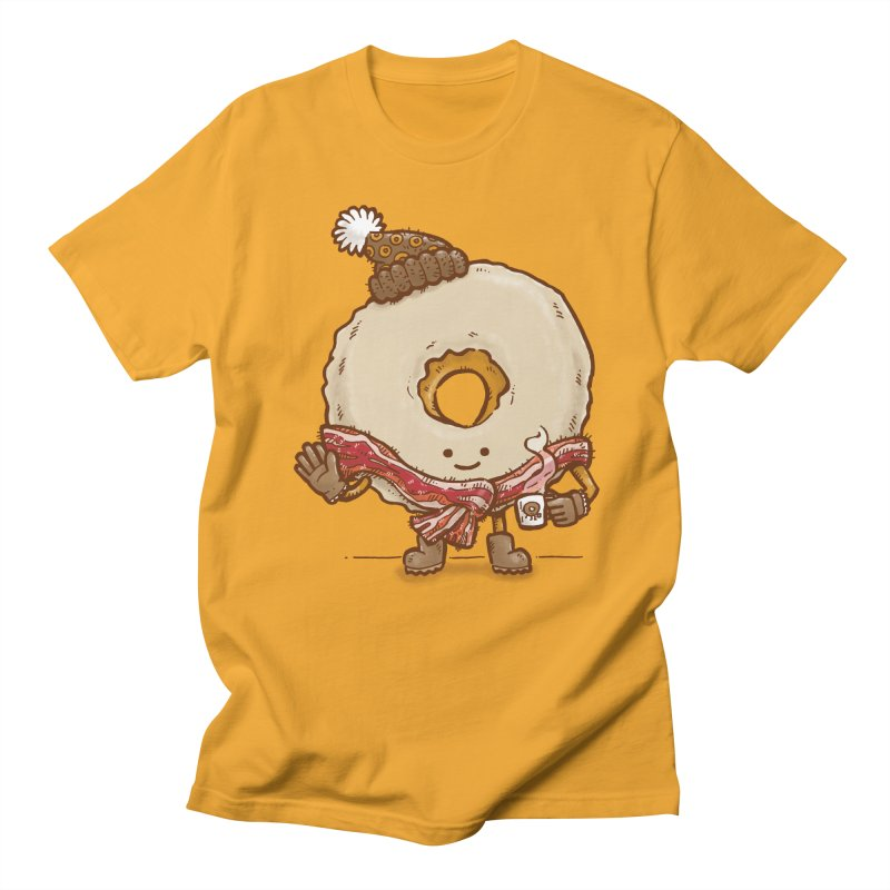 Bacon Scarf Donut Men's T-shirt by nickv47