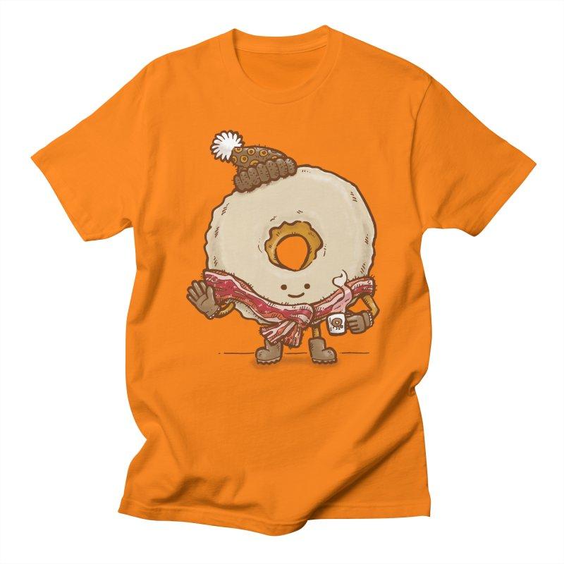 Bacon Scarf Donut Men's T-shirt by nickv47