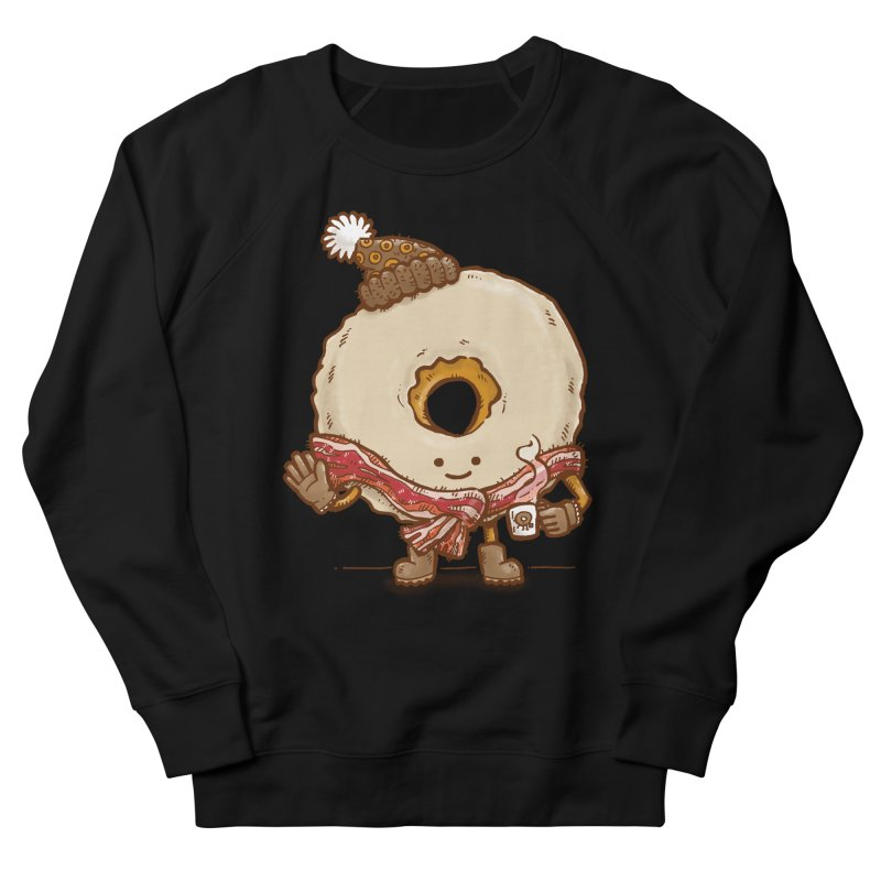 Bacon Scarf Donut Women's Sweatshirt by nickv47