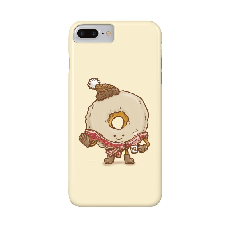 Bacon Scarf Donut Accessories Phone Case by nickv47