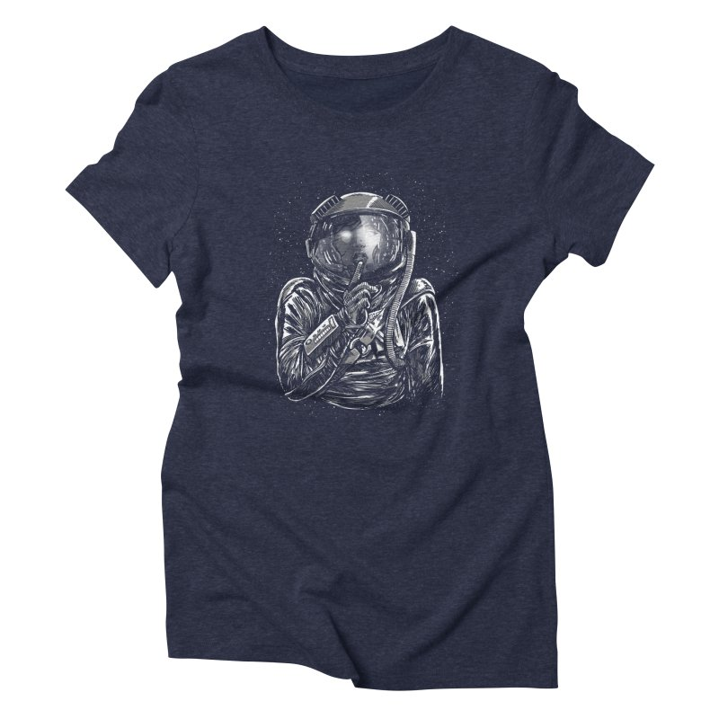 Secrets of Space 2017 Women's Triblend T-shirt by nickv47