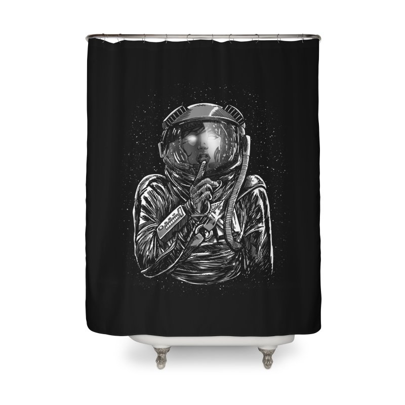 Secrets of Space 2017 Home Shower Curtain by nickv47