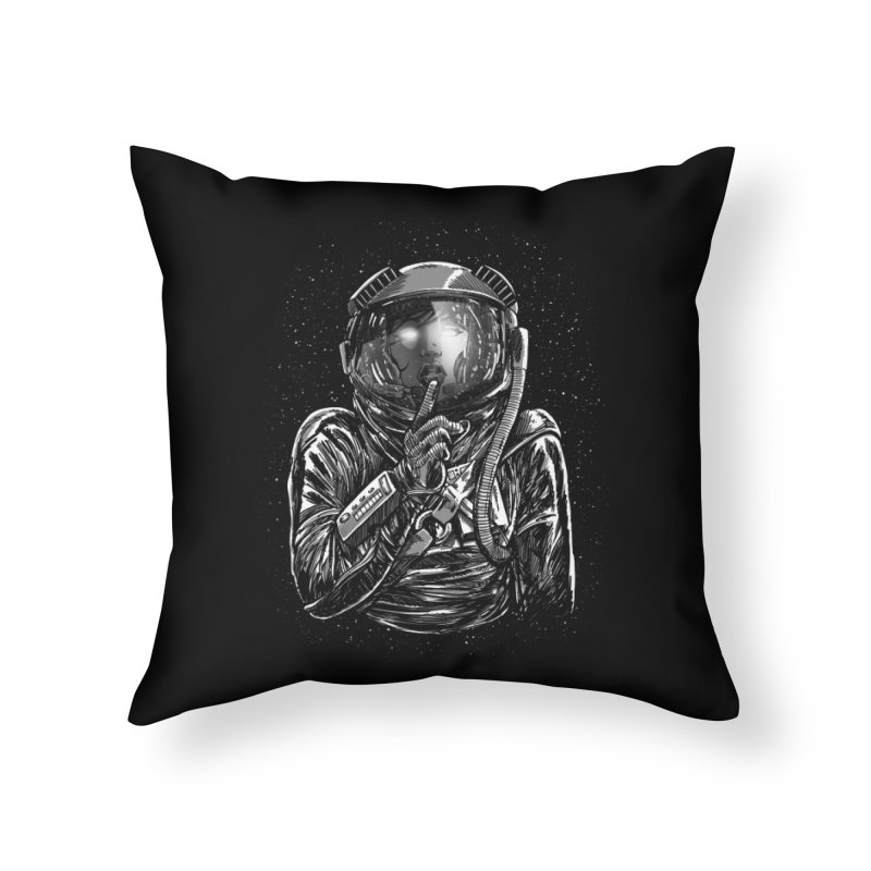 Secrets of Space 2017 Home Throw Pillow by nickv47