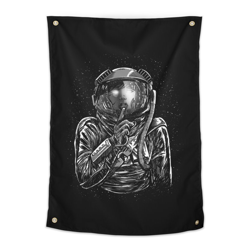 Secrets of Space 2017 Home Tapestry by nickv47